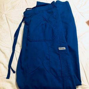 Pants - Greys Anatomy Blue Scrub pants
